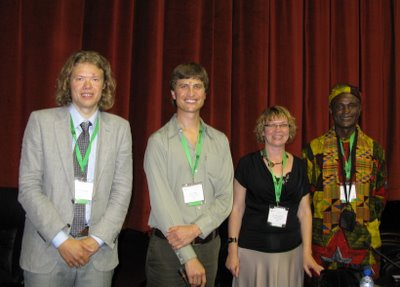 Presenters at eLearning Africa 2008