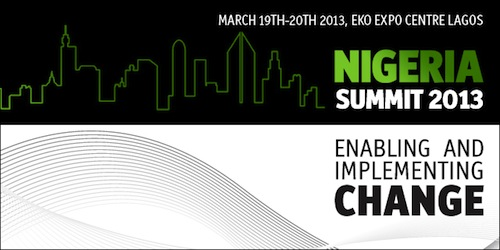 Nigeria Summit 2013