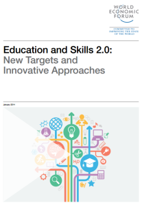 Education and Skills 2.0: New Targets and Innovative Approaches